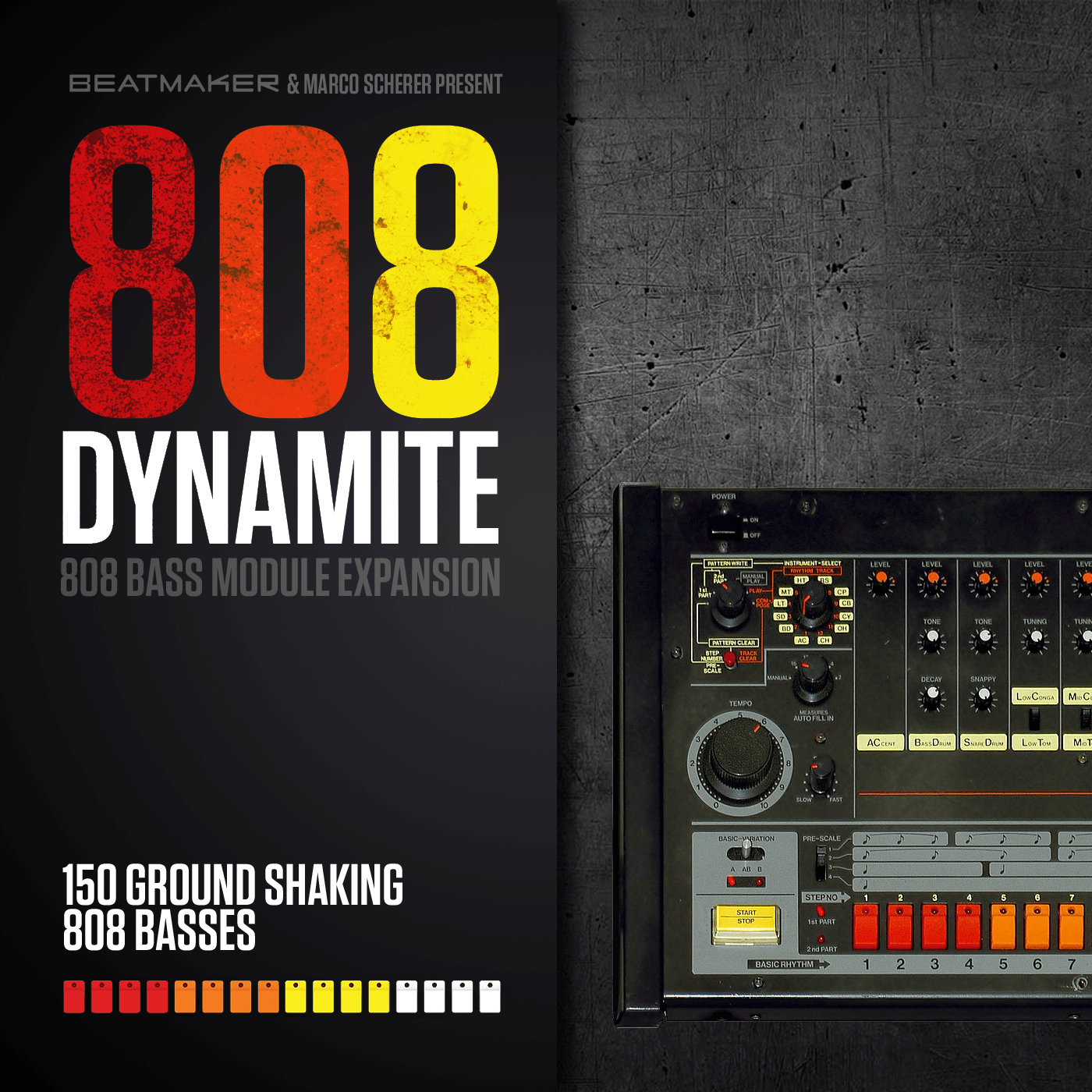 808 Dynamite Expansion for Beatmaker Bass Module III