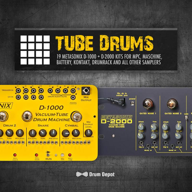 Drum Depot - Tube Drums [Metasonix]