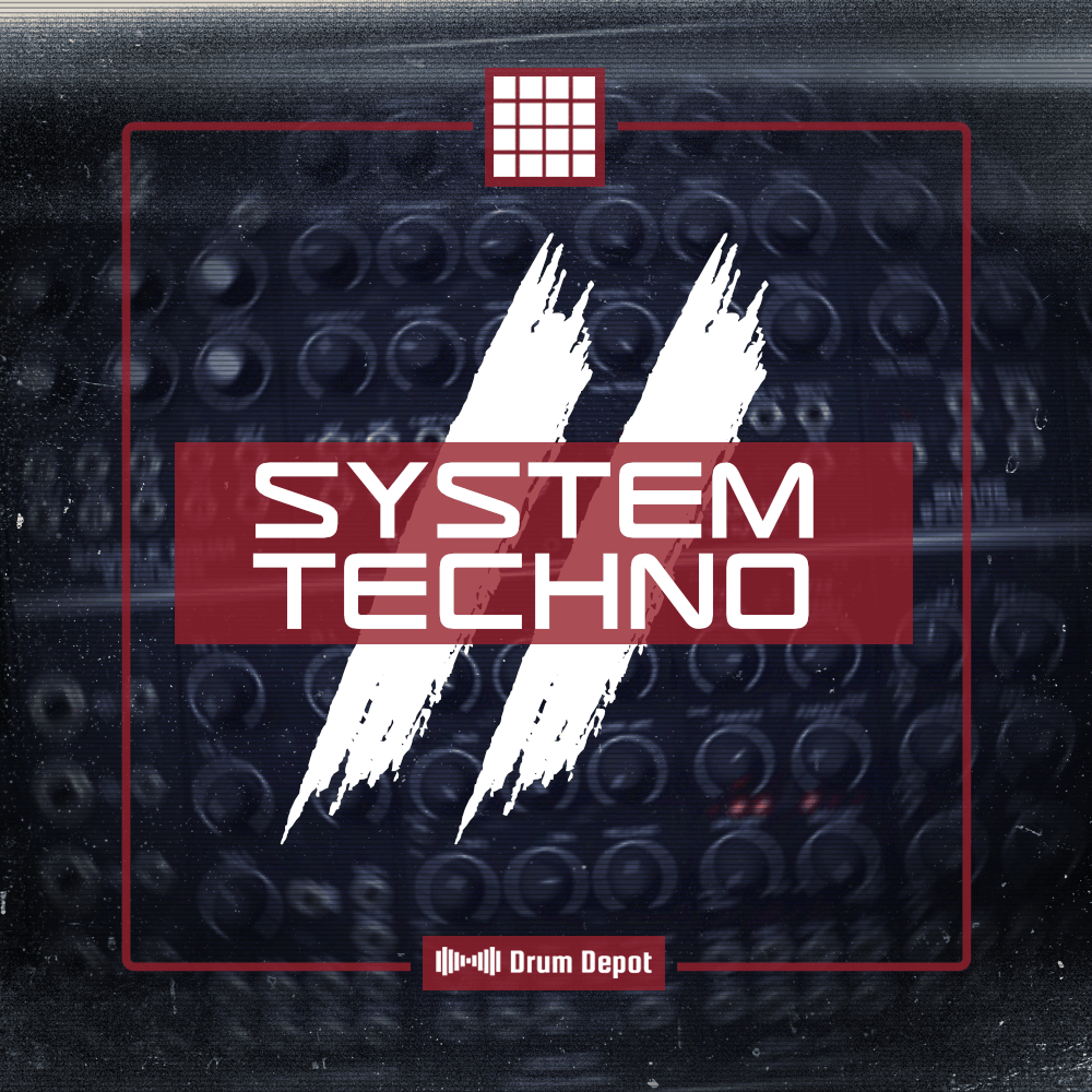 Drum Depot - System Techno II [36 drum kits for Techno, Trap & Electro-Punk]