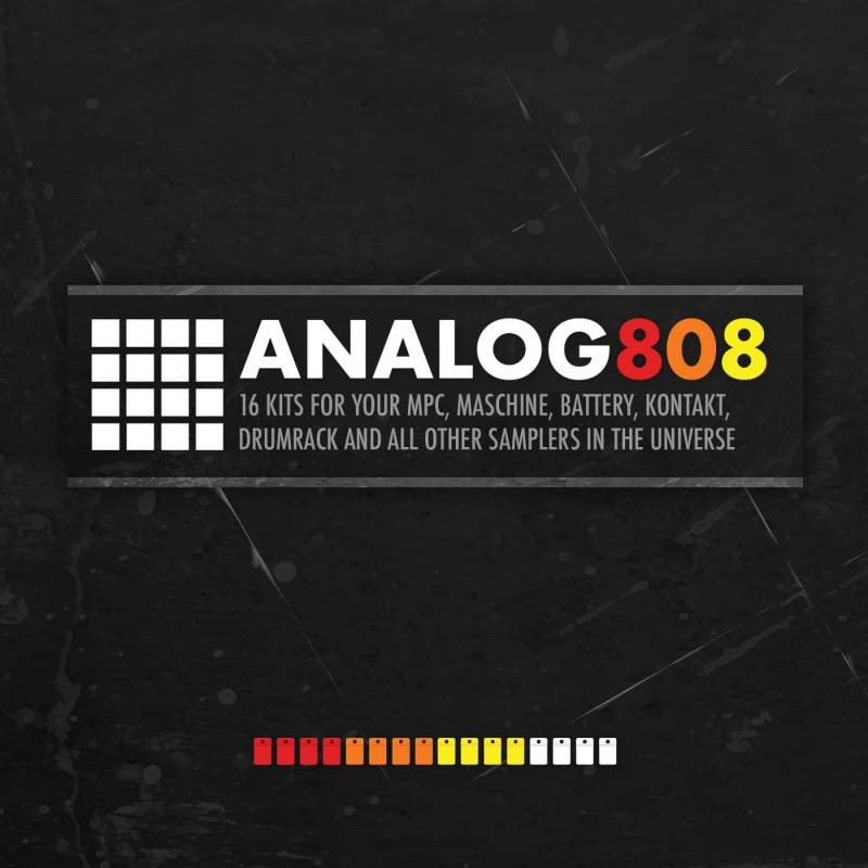 Drum Depot: Analog 808 - Brutalized